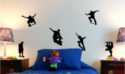 SKATE VINYL WALL ART STICKERS GRAPHICS