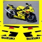 GSXR 600 MOTORBIKE STICKERS DECALS KIT
