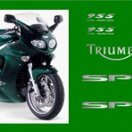 TRIUMPH SPRINT ST MOTORBIKE STICKERS DECALS GRAPHICS KIT