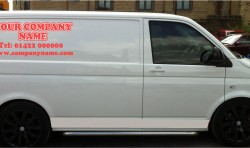 DESIGN YOUR OWN COMPANY WORK VAN GRAPHICS STICKERS
