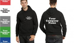 COMPANY WORK HOODIES, PERSONALISED CORPORATE CLOTHING